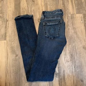 Big star luv skinny jeans 26R